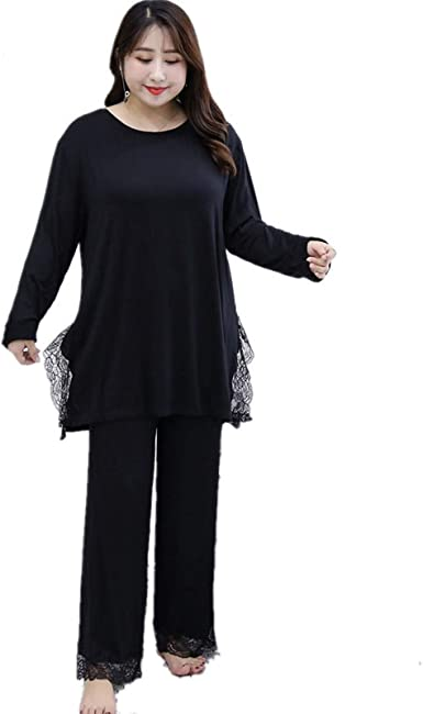 LEYUANA 2XL-6XL Pijamas de Talla Grande para Mujer ...