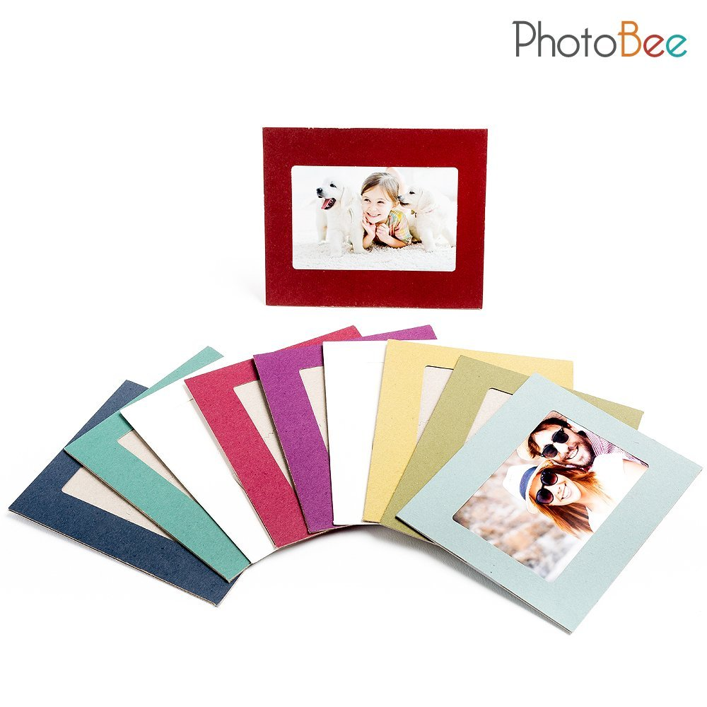 PhotoBee Paper Frame - Color (2 white frames + 8 colored frames per ...