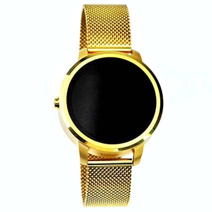 Pulsera de fitness reloj inteligente Abacus oro reloj digital reloj digital inteligente relojes para mujer reproducción