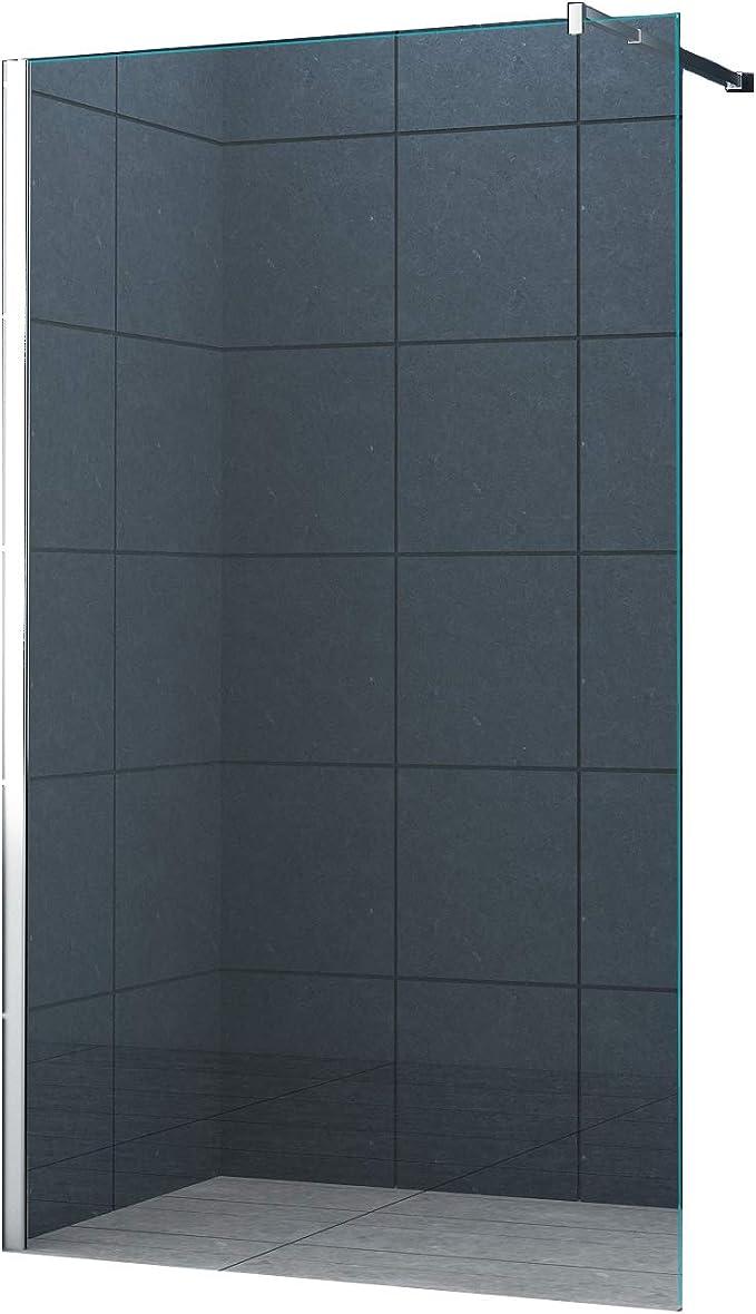 10 mm Mampara de ducha Düsseldorf 130 x 200 cm / Walk-In Cabina de ...