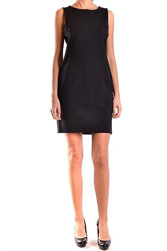 ONE Vestito Donna Mcbi225004o Viscosa Nero