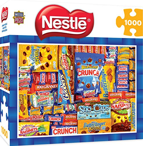MasterPieces Candy Brands Nestle - Chocolate Collage 1000 Piece Jigsaw Puzzle]()
