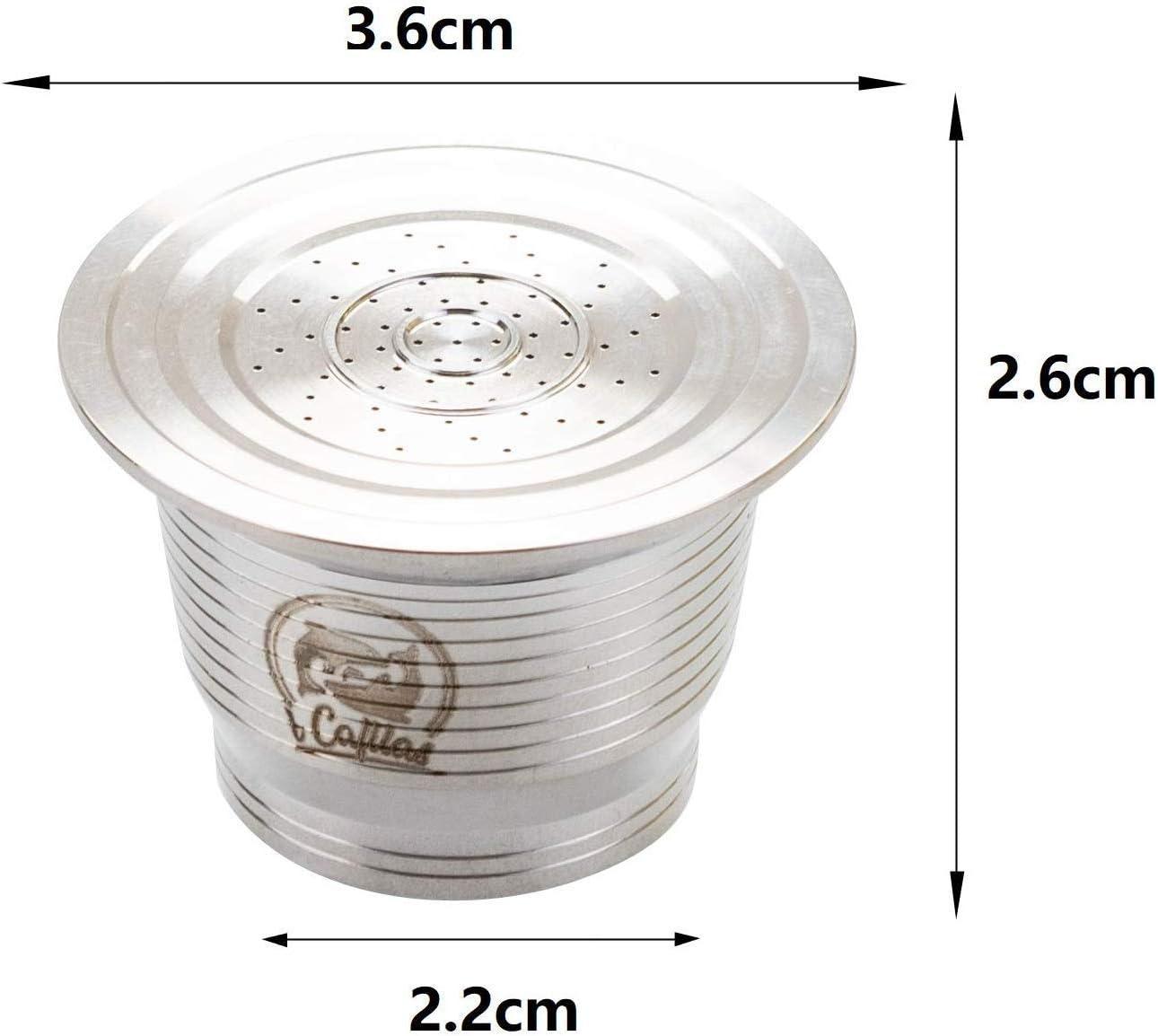 SOPRETY - Cápsula de café reutilizable de acero inoxidable con ...