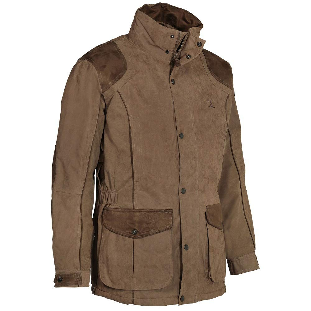 Amazon.com: Percussion Rambouillet Hunting Jacket - Khaki ...