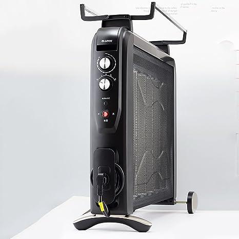 Calentador QFFL Aire Caliente Estufa de la Parrilla eléctrico silencioso 810 * 280mm Enfriamiento y calefacción