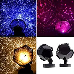 LtrottedJ Celestial Star Cosmos Night Lamp Night Lights ,Projection Projector Starry Sky
