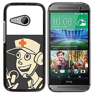 Stuss Case / Funda Carcasa protectora - Medic - Tf 2 Game Gaming - HTC ONE MINI 2 / M8 MINI