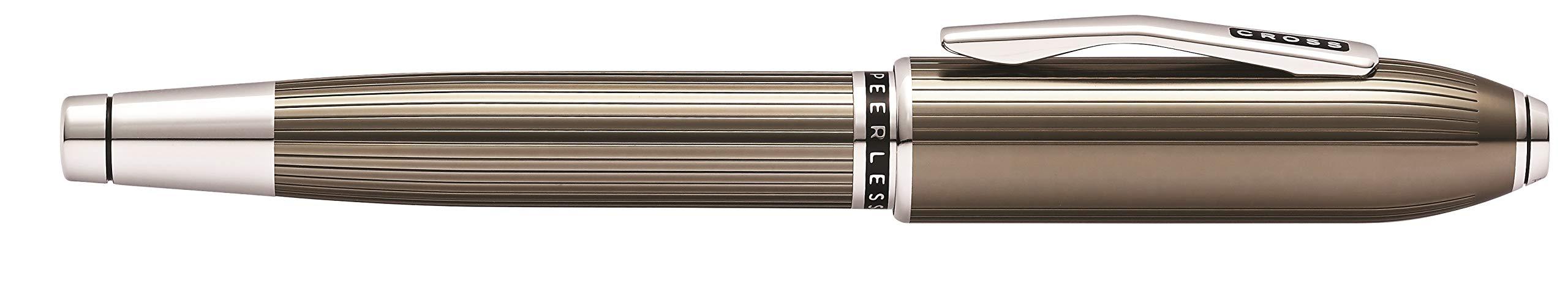 Cross Peerless Translucent Titanium Gray Selectip Rollerball Pen by Cross (Image #4)