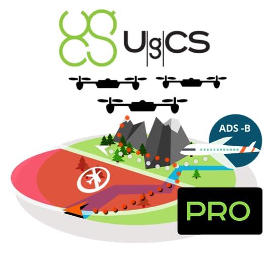 Amazon com: UgCS Pro [Online Code]: Software