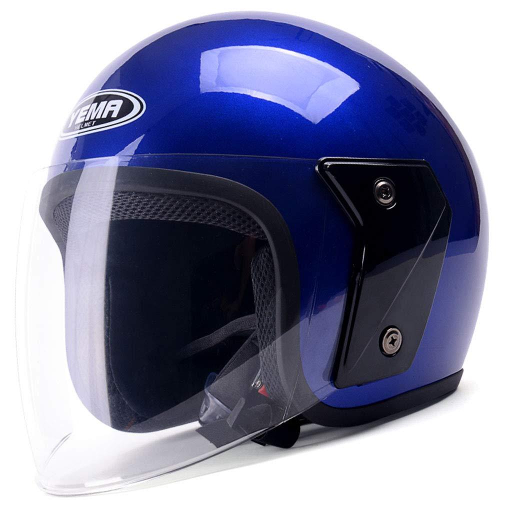 ヘルメット ヘルメット - 電動バイク冬暖かい防曇安全ヘルメットユニセックス (色 : C) B07HNHKLGP C C