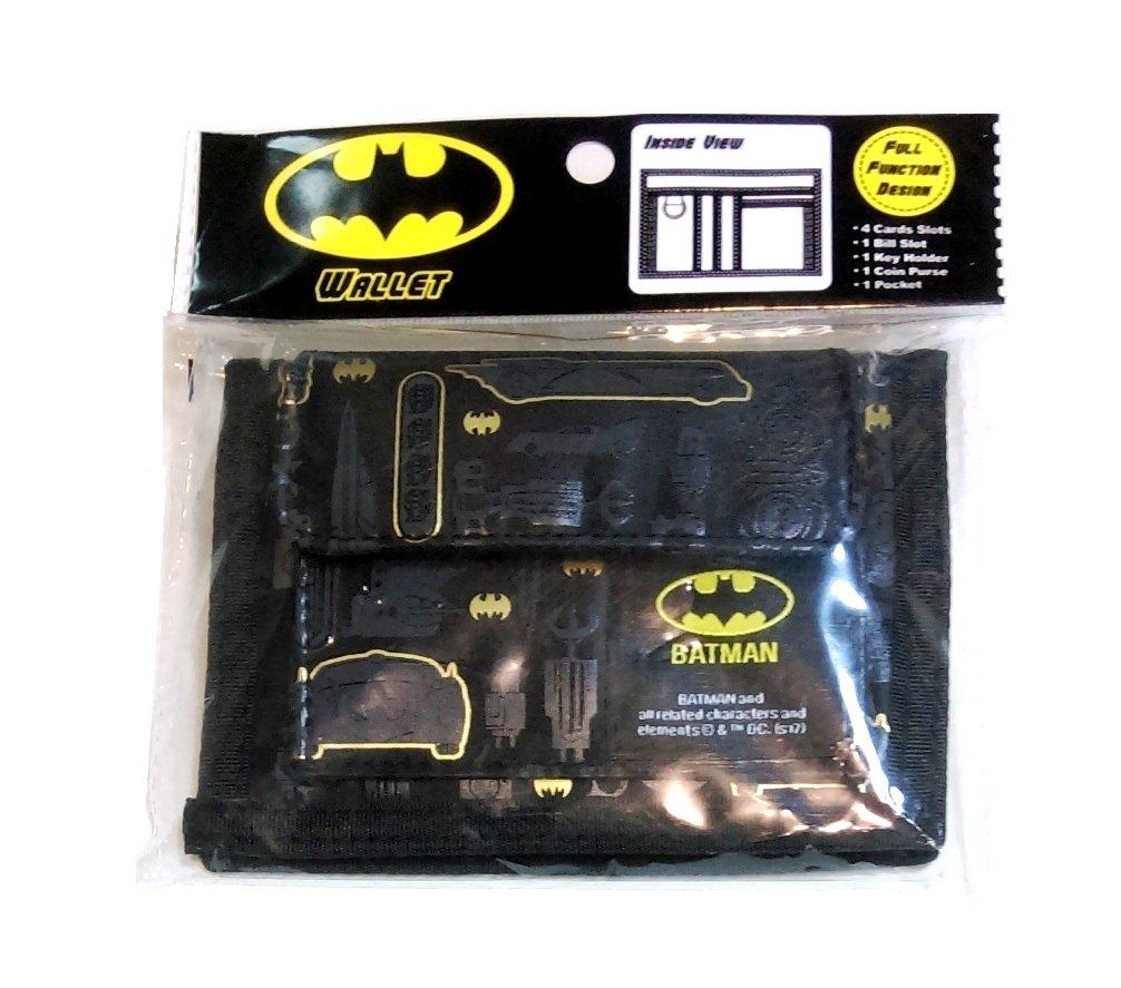 Batman Logo Bifold Wallet Coin Purse Card Holder Organizer by Superhero (Image #7)