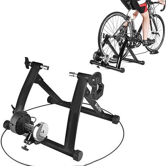 KLY Soporte Entrenador Ajustable Bicicleta - Rodillo Resistencia ...
