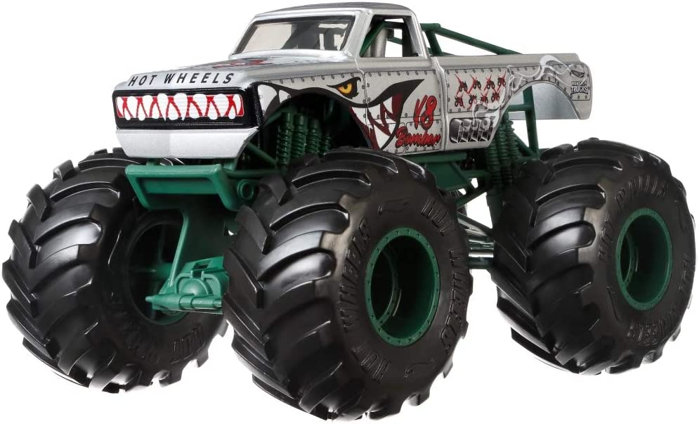 Hot Wheels Monster Trucks 1:24 V8 Bomber Vehicle