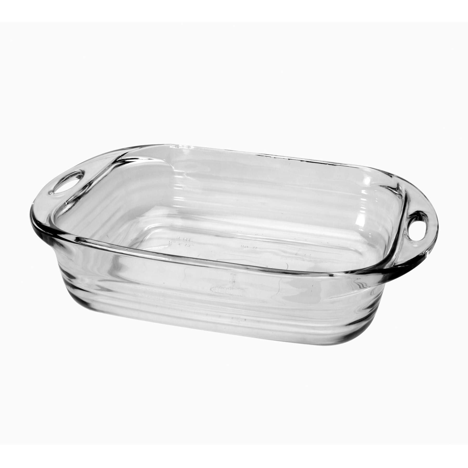 Anchor Hocking Premium 1.5 Quart Loaf Glass Baking Dish with Removable Silicone Grips,Teal, Set of 2 by Anchor Hocking (Image #3)
