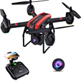 SANROCK 1080P HD Camera Drones for Kids and Adults, X105W RC Quadcopter for Beginners, Wifi Live Video, App Control…