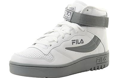e7f1cc54b731 Fila Men s FX-100 White White Monument High-Top Sneakers Shoes Sz