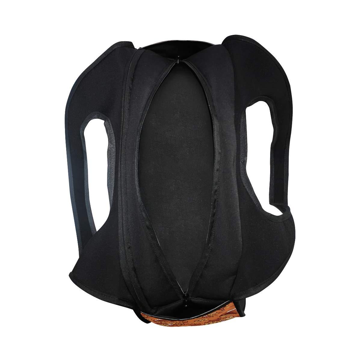 Gym Bag Sports Holdall Steampunk Mechanism Canvas Shoulder Bag Overnight Travel Bag for Men and Women