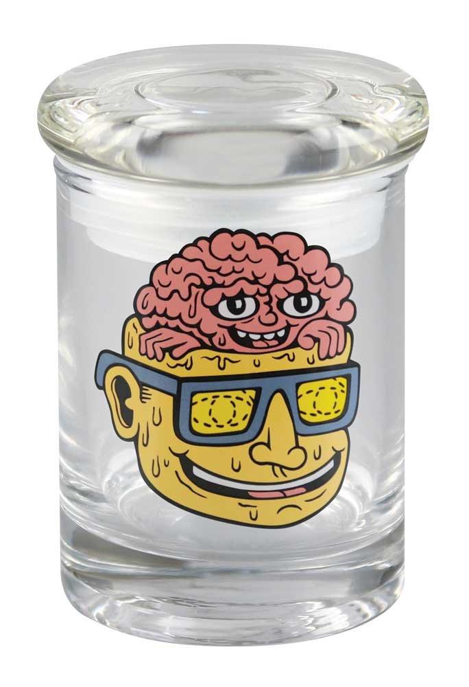 420 Science Killer Acid Brain Pop Top Jar (Small)