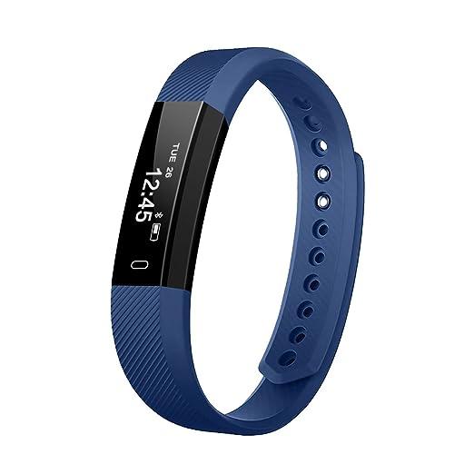 66 opinioni per Fitness Tracker, EIVOTOR Touchscreen OLED Braccialetto Fitness, IP67