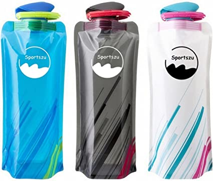 700ml Stainless Steel Water Bottle Drink Cup for Bike Cycling Hiking Camping