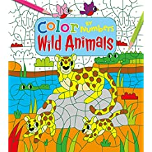 Color by Numbers: Wild Animals