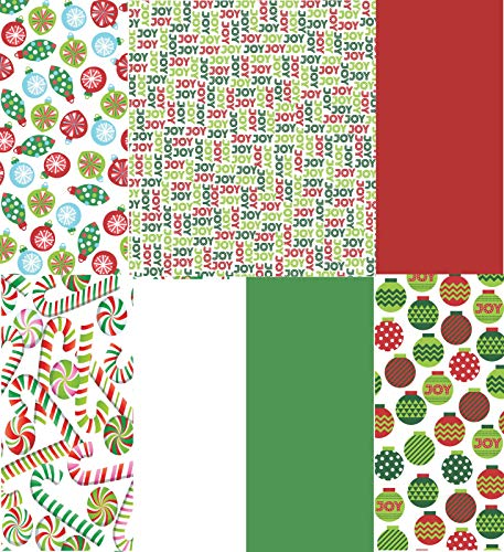 Christmas Tissue Paper Printed and Solid- 120 Sheet ()