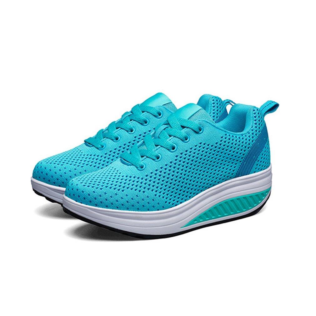7e8dc3bba02a1 LFEU Femme Chaussure de Sport Basket Mode Compensé Gothique orthoptique  Maille Tissu Respirant: Amazon.fr: Chaussures et Sacs