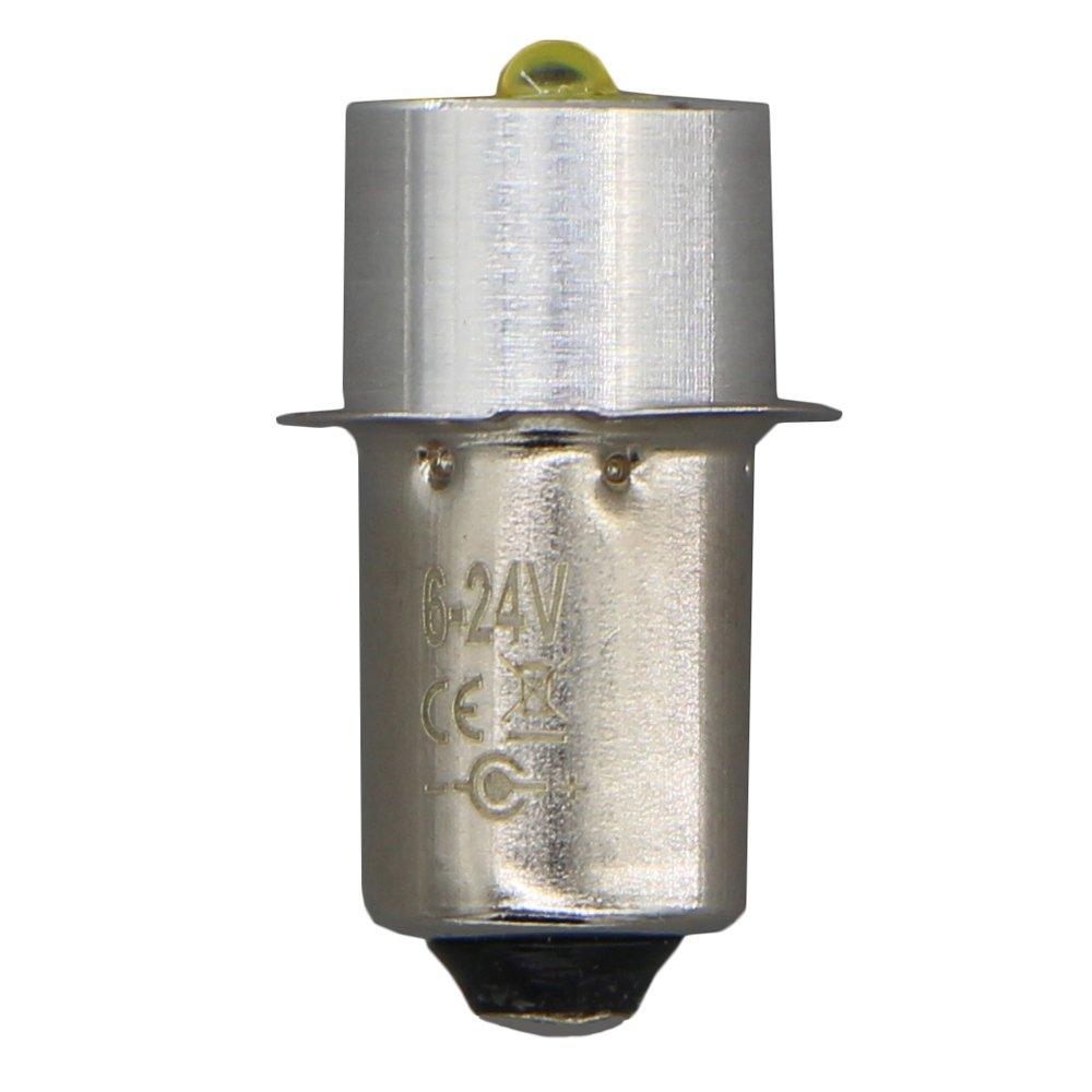 LudoPam Upgrade LED Bulb 3W Replacement 12V 14.4V 18V Flashlight Work Light Tooling Light