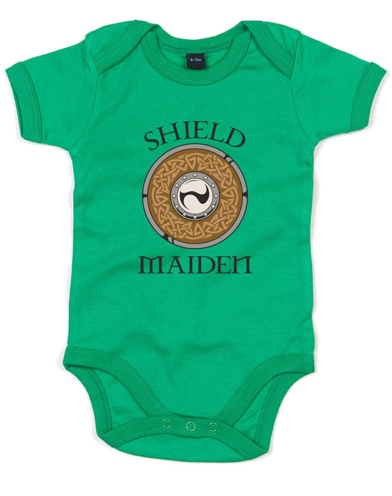 Brand88 - Shield Maiden, Printed Baby Grow BZ10_EY090