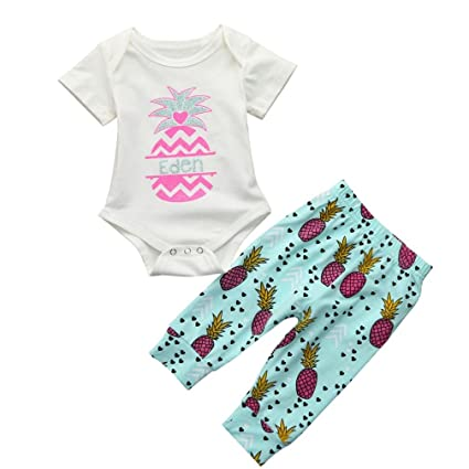 856720eca Amazon.com  NEARTIME ❤️Baby Clothes Set