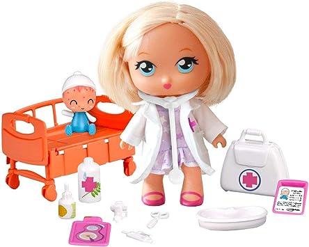 los Barriguitas Muñeca Doctora clínica, Multicolor (Famosa 700015041): Juguetes y juegos - Amazon.es