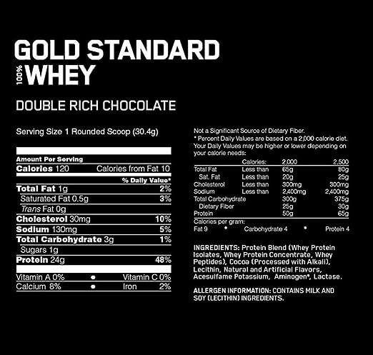 optimum gold standard whey facts ile ilgili görsel sonucu