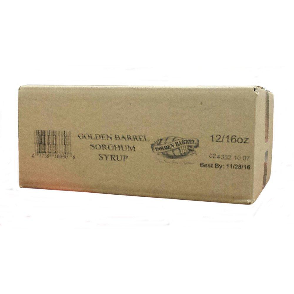 Golden Barrel Sorghum Syrup (12/16 oz. Case) by Golden Barrel