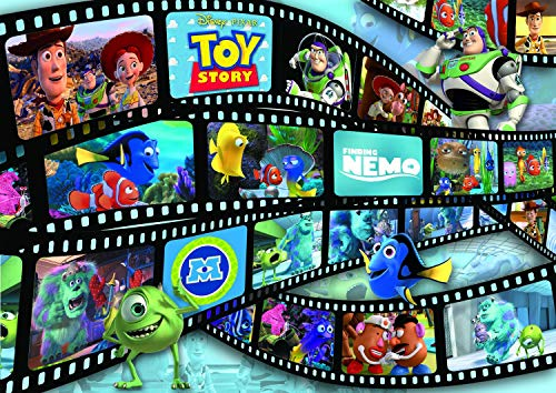 Ravensburger Disney-Pixar: Movie Reel 1000 Piece Jigsaw Puzzle for Adults – Every Piece is Unique, Softclick Technology Means Pieces Fit Together Perfectly