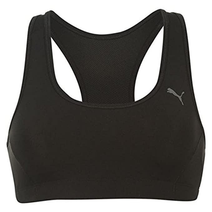 Puma Essentials de Deporte para Mujer Fitness Yoga Sujetador Deportivo Dry Cell Espalda Cruzada: Amazon.es: Ropa y accesorios