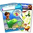 Disney Good Dinosaur Mess-Free Magic Coloring Book and Sticker Pack Set