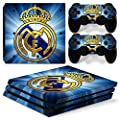 FriendlyTomato PS4 Pro Console and DualShock 4 Controller Skin Set - Soccer Football - PlayStation 4 Pro