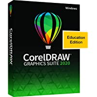 Corel CorelDRAW Graphics Suite 2020 | Graphic Design, Photo, and Vector Illustration Software | Education Edition [PC…