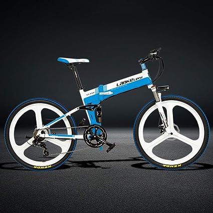 JPFCAK, Eléctrico, Bicicleta, Plegable, Montaña, Bicicleta, 48V26 Pulgadas, 5