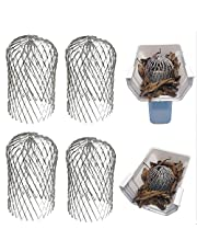 Gutter Guard 3 Inch Expand Aluminum Filter Strainer. Stops Blockage Leaves Debris. Pack of 4. by Massca (Aluminum 3 inch)