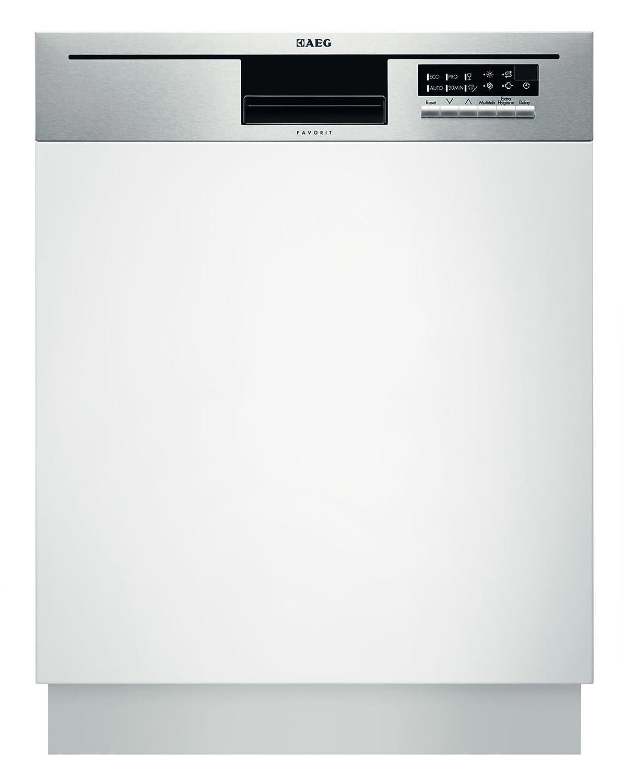 AEG F56512IM0 - Lavavajillas (Semi-incorporado, Acero ...