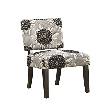 Cool Coaster Co 902050 Accent Chair White Grey Black Lamtechconsult Wood Chair Design Ideas Lamtechconsultcom