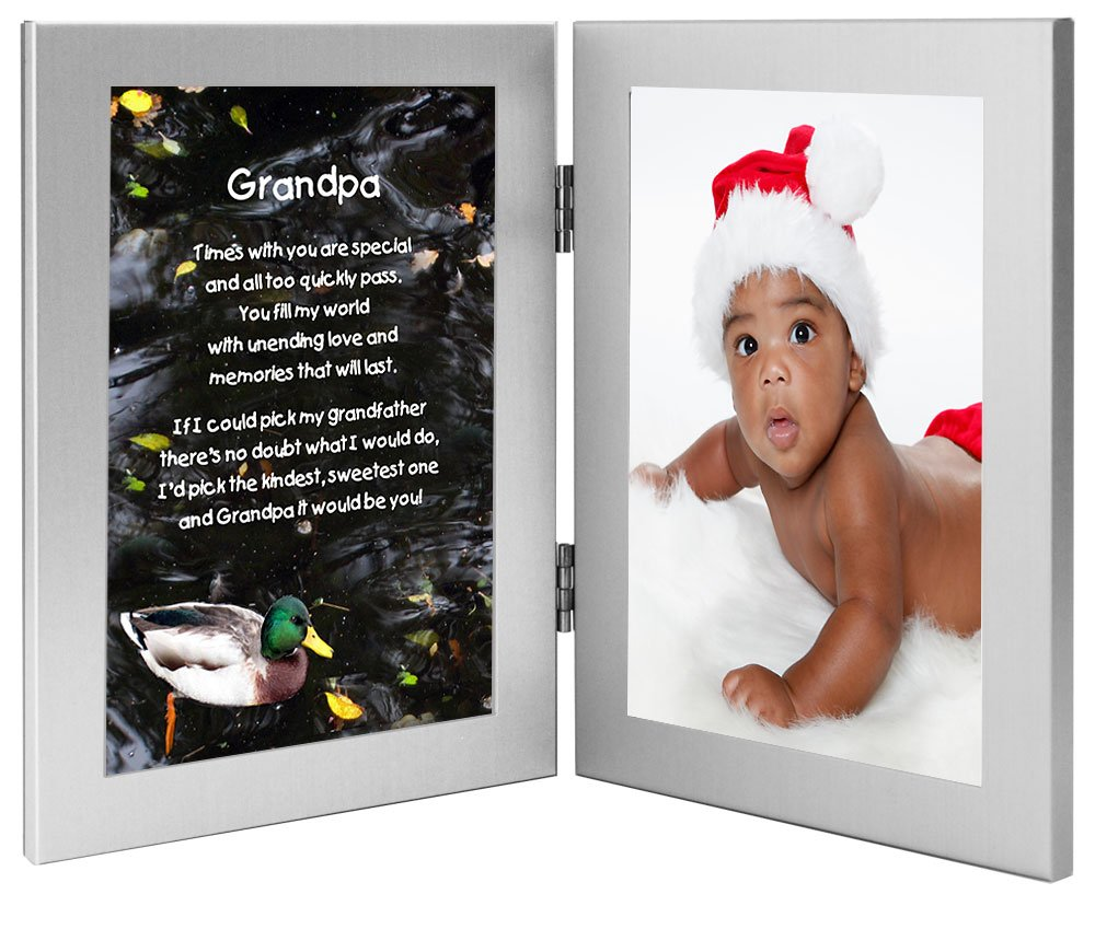 Amazon.com - Poetry Gifts Gift From Grandchild - Frame for Grandpa ...