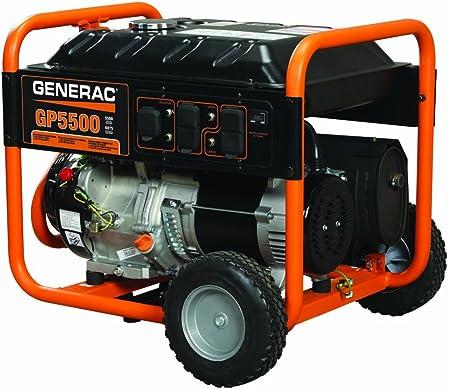 Generac 5939 GP5500 5500 Running Watts/6875 Starting Watts Gas Powered on manual generator transfer switch diagram, generac 5500 wiring diagram, onan 4000 generator parts diagram, generac generator hookup diagram, generac generator transfer switch wiring diagram,