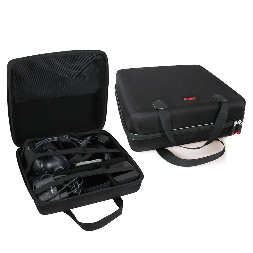 Hard EVA Travel Case for HTC VIVE - VR Virtual Reality System by Hermitshell