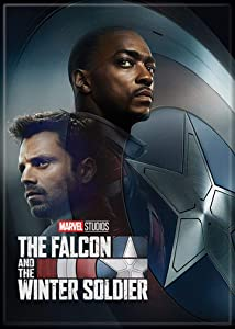 Ata-Boy Marvel Falcon and Winter Soldier Poster #1 2.5