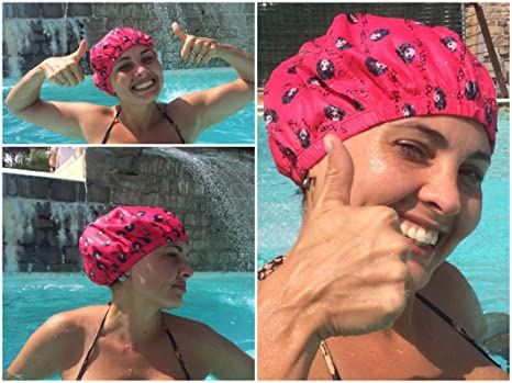Rosso Per Acquagym Doccia Terme ArtHappyhaircap Happy Hair Ciliegia Cuffia hCtsxQrBd