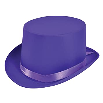 Bristol Novelty Top Hat Purple Hats - Men s - One Size  Amazon.ca  Toys    Games 4df777db06a