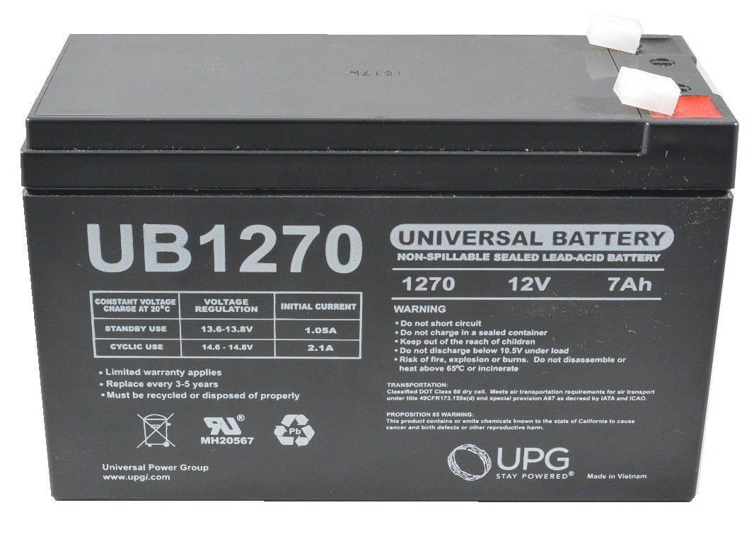 VERIZON FIOS REPLACEMENT BATTERY 12V 7AH SLA RECHARGEABLE BATTERY 12V