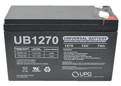 Amazon Com Verizon Fios Replacement Battery 12v 7ah Sla
